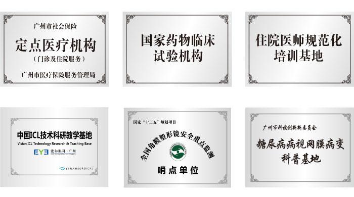 广州爱尔资质